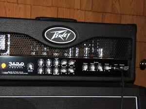 Peavey 3120 Half Stack-120w all tube Amp-$875-Today