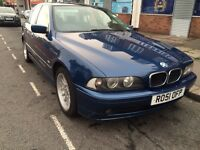 2001 BMW 520i Automatic Long MOT & Service History Excellent Condition