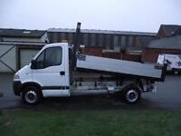 2008 58 VAUXHALL MOVANO 2.5CDTI DROPSIDE TIPPER # ONLY 65 000 GENUINE MILES #