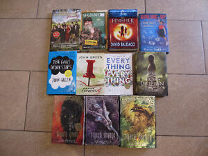 BOOKS FOR SALE - SEE AD FOR TITLES - $ 5 EACH
