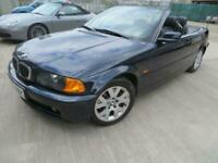 LHD BMW 325Ci Cabrio Auto, E/seats, Leather, LOW MILES, 1 Owner, 63k Miles, FSH!