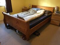 European double bed frame - free