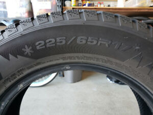 WINTER TIRES for Sale 225/65R17