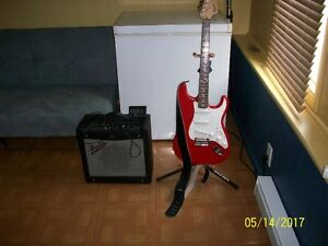 Squire Strat and amp