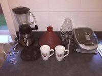 Kitchen bundle George Forman Blender and more