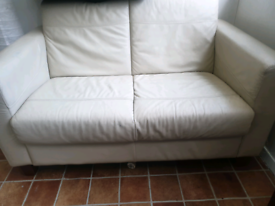REAL LEATHER SOFA 3 AND 2 SETTER