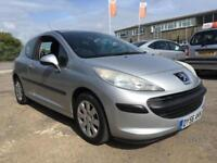 2006 Peugeot 207 Hatch 3Dr 1.4 16V 90 S Petrol silver Manual