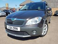 Skoda Roomster 1.2 TSI Scout 105bhp With Nav, Alloys, Air Con, Hpi Clear Etc