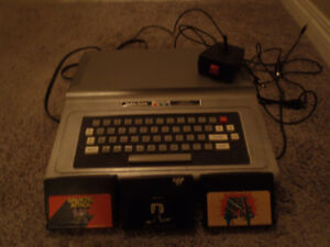 radioshack TRS-80 video game console and games