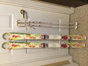 Youth Skis and Poles
