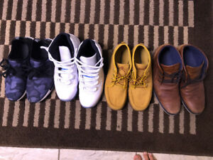 4 pair shoes