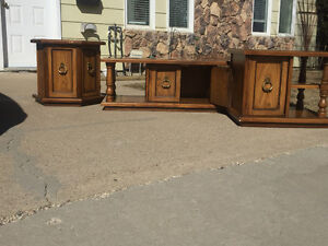 Coffee Table w/ Two End Tables