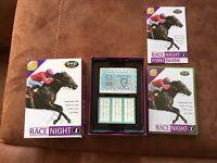 Race night dvd game.