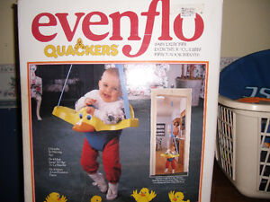 Evenflo Quackers Baby Exerciser.