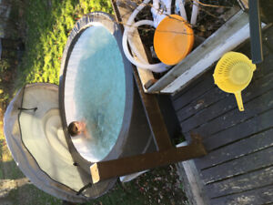 Canadian spa hottub only used 5 months