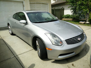 2004 Infiniti G35 Coupe With Winter Tires