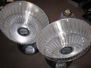 Handyman SPECIAL - 2 Presto Parabolic Heaters - NOT Heating Kitchener / Waterloo Kitchener Area image 1