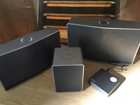 LG H7, H5 and H3 + R1 wifi hub Musicflow wireless speakers