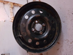 14 inch 4 bolt rim from a Saturn
