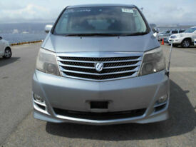 Toyota Alphard AS, 7 Seater, 2400cc, Auto, Grey metallic, 36 month warranty