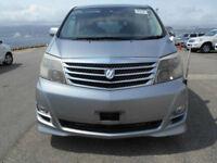 Toyota Alphard AS, 7 Seater, 2400cc, Auto, Grey metallic, 36 month warranty