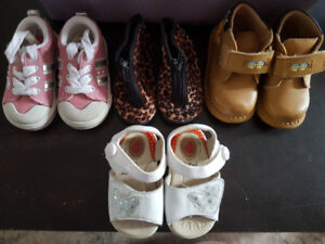 Baby shoes assorted sizes