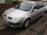 2005 Renault megane estate 1.6 good runner