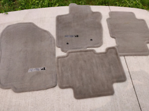 RAV4 grey carpet floor mats (2006-2012)