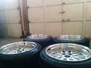 5X120    225/45/18R rims and tire  BMW