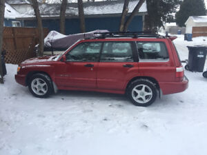 2002 Subaru Forester Forester s SUV, Crossover