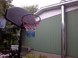 panier basketball lifetime ajustable +nouveau filet NBA ,ajusta