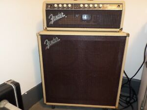 Fender tonemaster head and cab custom shop