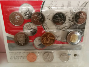 Monnaie 2008-2010 Olympic Vancouver