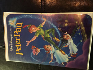 Walt Disney Classic Peter Pan VHS movie. $20.