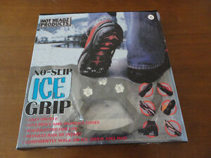 Brand new in box Ice Grip winter boots slip on Size XL London Ontario image 6
