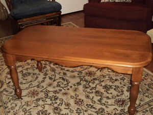 1 Coffee Table with matching End Table (Truro)