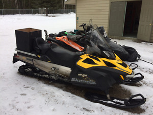 Skidoo Skandic WT 600 HO ETEC for sale REDUCED $9,000 or B.O.
