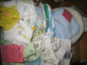 BABY BOY PREEMIE/NEWBORN CARE BUNDLE # 1