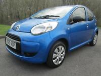 60/10 CITROEN C1 1.0 VT 5DR HATCH IN MET BLUE WITH ONLY 73,000 MILES