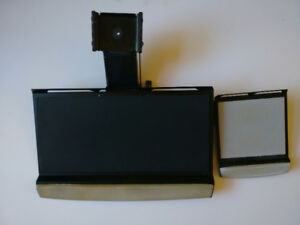 Computer Keyboard Tray with pivoting arm