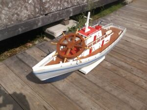 model boat hand crafted