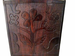 TRIBAL carved ebony COMB STYLE WALL HANGING designer piece Kitchener / Waterloo Kitchener Area image 3