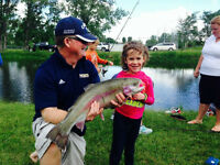 Milk River Learn to Fish Event - Kids Can Catch