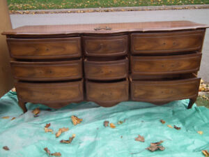 French Provincial Dresser and Chest of Drawers