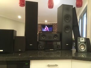 5.1 Home Theatre System (Pioneer, JBL, Quest, Kenwood)