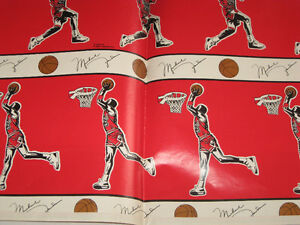 Micheal Jordan Wrapping Paper