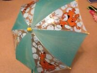 Kids umbrellas Scooby Doo, Ben 10 and Hello Kitty