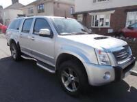 2009 Isuzu Rodeo Denvar Max d/c pickup 4x4 3.0 td NO VAT 1 OWNER FSH