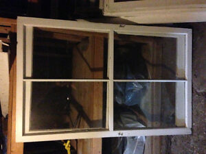 Various antique windows in beautiful condition!