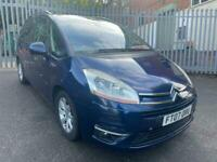 2007 Citroen Grand C4 Picasso 2.0 HDi 16v EGS VTR+ 7 SEATER AUTO FSH LOTS SPENT